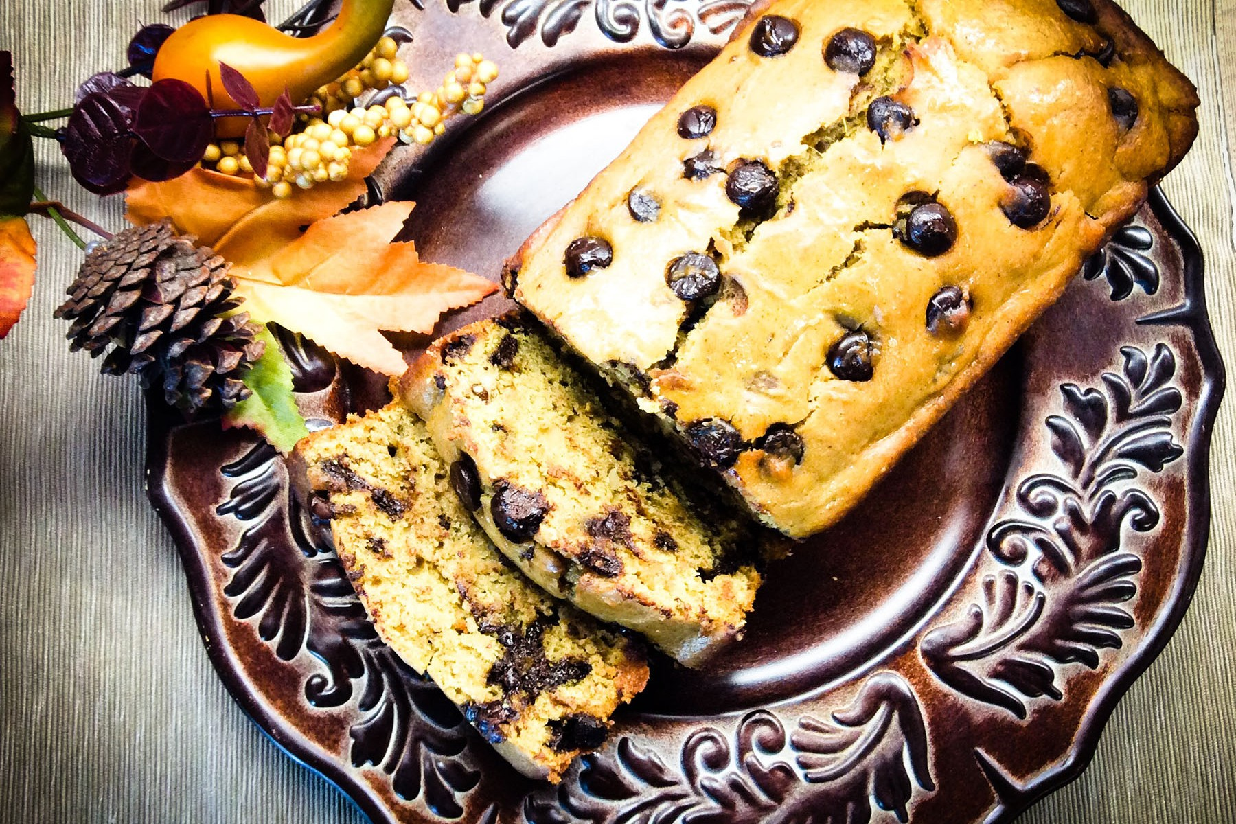 vegan pumpkin bread recipe blog