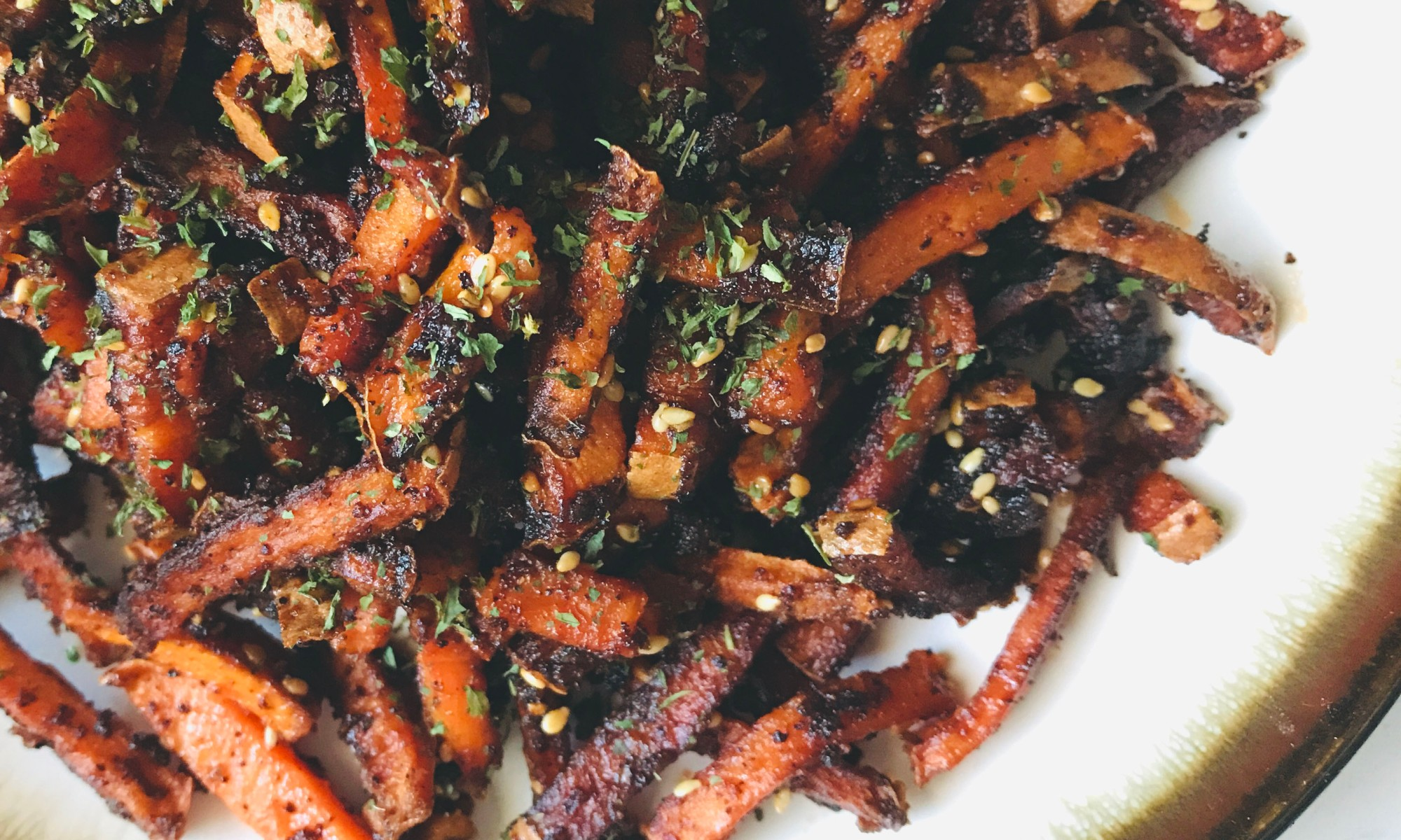 Sweet and Spicy Crispy Sweet Potato Fries