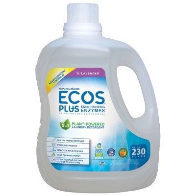 Eco-friendly laundry detergent from Ecos