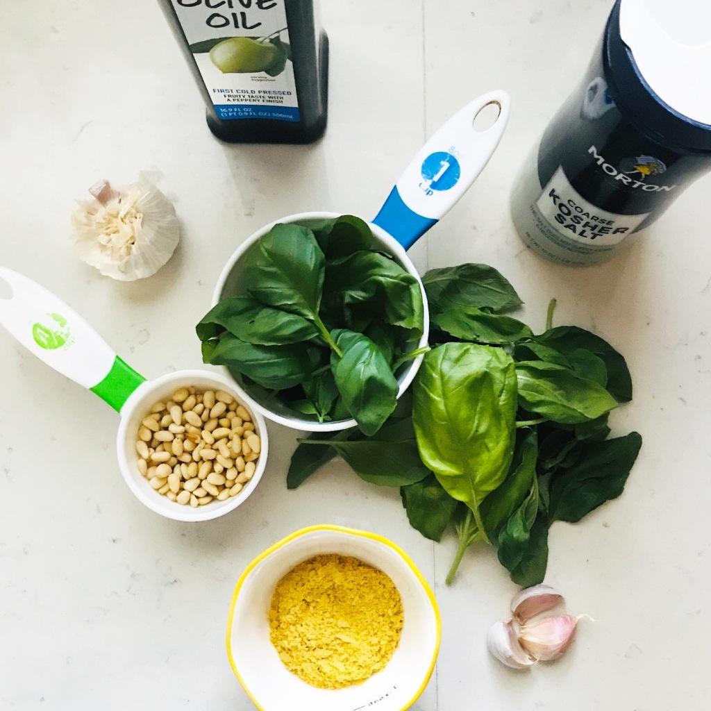 Pesto Sauce recipe ingredients